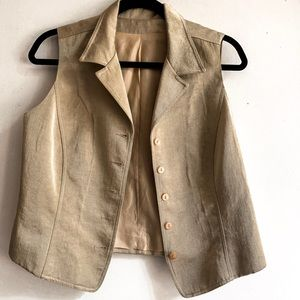 Vintage Gold Vest